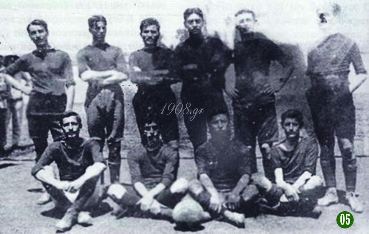 Ποδοσφαιρικός Όμιλος Αθηνών 1908 vivliapao.gr Γιώργος Καλαφάτης, ο ιδρυτής του Παναθηναϊκού