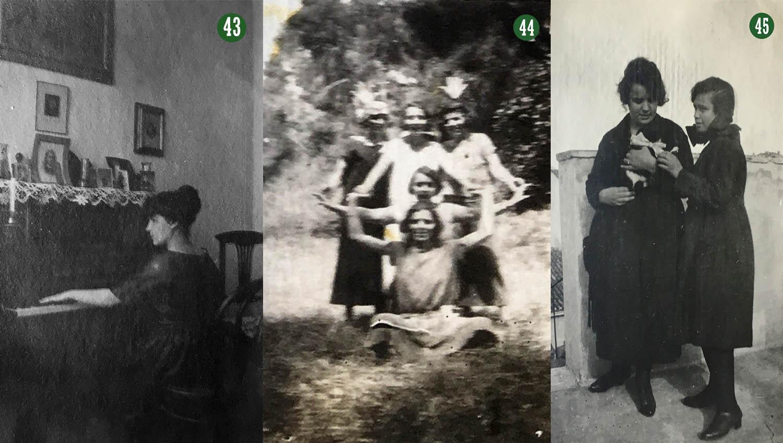 Οι αδερφές και η σύζυγος του Γιώργου Καλαφάτη.