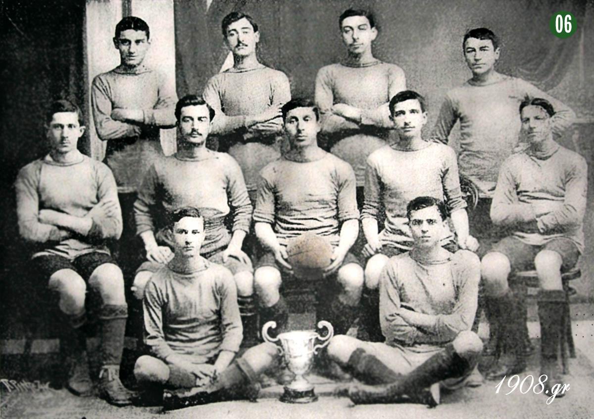 Πανελλήνιος Ποδοσφαιρικός Όμιλος, 1912 1908,gr vivliapao.gr Γιώργος Καλαφάτης, ο ιδρυτής του Παναθηναϊκού