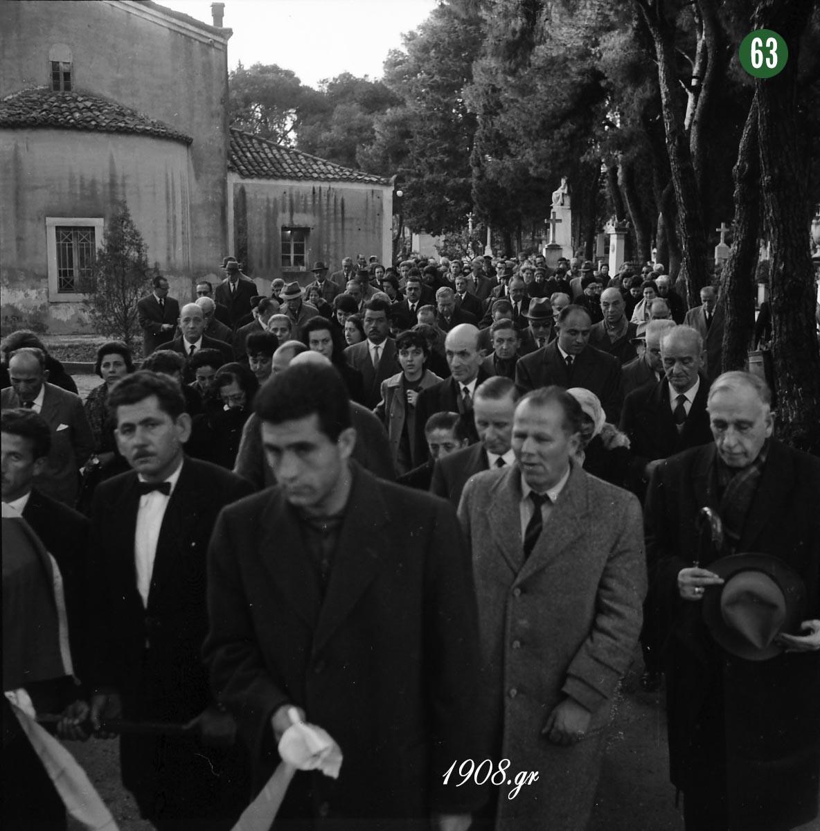 """Η κηδεία του Γιώργου Καλαφάτη - """"Γιώργος Καλαφάτης, ο ιδρυτής του Παναθηναϊκού"""", b-e.gr"""