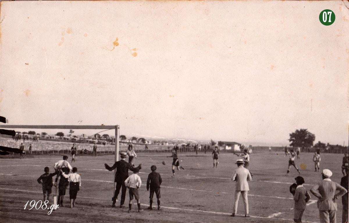 Πανελλήνιος Ποδοσφαιρικός Όμιλος, τέλη δεκαετίας '10, Γιώργος Καλαφάτης, ο ιδρυτής του Παναθηναϊκού